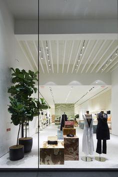 Celine Beverly Hills designed by Andrea Tognon Architecture Boutique Interior, Boutique Design, Boutique Ideas, Celine, Clothing Store Design, Retail Architecture, Modern Store, Store Layout, Retail Store Design