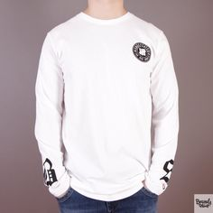 Biały longsleeve Undefeated BS White / www.brandsplanet.pl / #undefeated #UNDFTD
