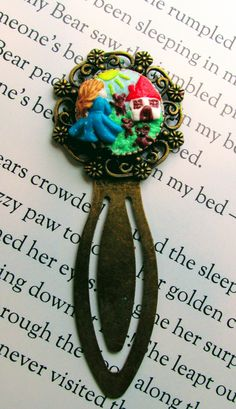 Unique Bookmark, Goldilocks and the three bears bookmark, fairy tales, gifts for bookworms, book lover, classics stories, reading gift, by PercysPeculiars on Etsy