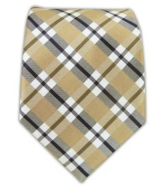 Pacific Boulevard Plaid - Champagne | Ties, Bow Ties, and Pocket Squares | The Tie Bar