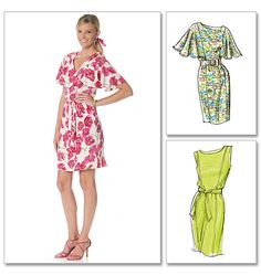 Shop | Category: Misses | Product: McCall's 6277 Misses' Lined Dresses and Belt
