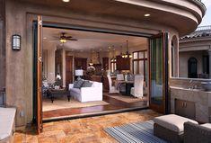 Concepts for Designating Outdoor Rugs Outdoor Carpet, Outdoor Rugs, Indoor Outdoor, Flagstone Patio, Backyard Patio, Farmhouse Chic, Rustic Chic, Folding Patio Doors