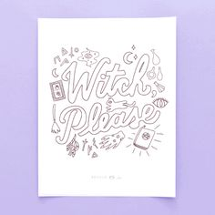 Free Printable Friday: Spooky Halloween Coloring Pages via Brit + Co