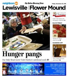 11/23 Cover Story: Our Daily Bread in Denton serves 200 meals a day, every day. And the need for more is growing.