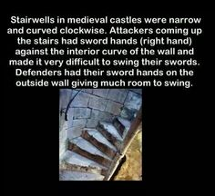 Medieval Castle Stairs
