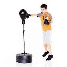 FITNESS Sports de combat Sports de combat - Punching Ball + gants Boxe Jr DOMYOS - Sports de combat