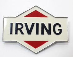 Irving Oil Logo Car Truck Decal Metal With Mounting Pins Die-Cut Gas Pump Decal | eBay Irving Oil, Truck Decals, Gas Pumps, Business Cards, Vintage Items, Canada, Posters, Trucks, Ads