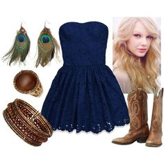 Peacock Feathers by qtpiekelso on Polyvore