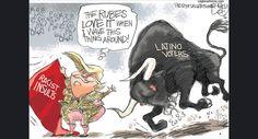 "Trump's ""Minority Outreach""   Pat Bagley - Salt Lake Tribune"