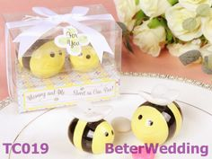 conjunto 20 40 piezas de envío gratis de amor aves de cerámica sal y pimienta shakers regalos de boda tc019 #bees