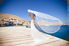 Athens, Greece wedding photo shoot inspiration by Magdalene Kourti. Discover…