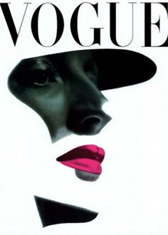 Erwin Blumenfeld, Vogue Beauty Issue, Vogue US, New York, May 1945 © The Estate of Erwin Blumenfeld tag: makeup pink