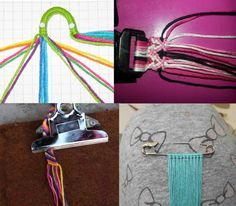 Ten steps to become a macramé master.