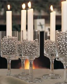 A New Year's Eve Candle Cocktail