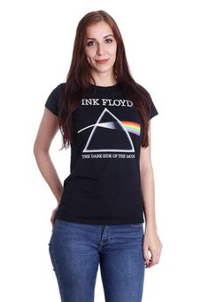 ce849940 Pink Floyd - Dark Side Of The Moon Refract - Girly - Officiële Classic Rock  Merchandise