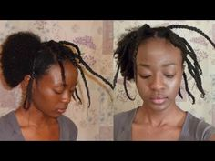 How To Stretch Natural Hair Using Thread *No Heat* Natural Hair Care Tips, 4c Natural Hair, Natural Hair Growth, Natural Hair Styles, Mixed Girl Hairstyles, African Hairstyles, Afro Hairstyles, African Threading, Hair Threading