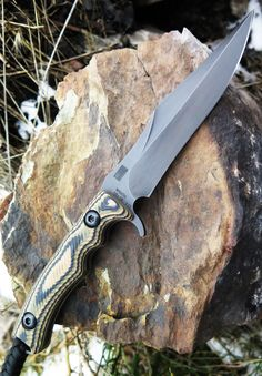 Behring Knives BEH280 Technical Wraith Fixed Blade Knife