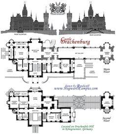 Hogwarts School Floor Plan
