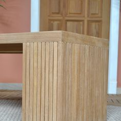 Niagara Teak Liner Bench Stool - 59"