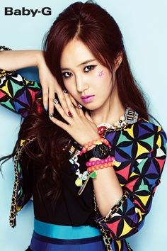 Soshi Site 9: Girls' Generation's Casio Baby-G Mobile Wallpapers + Download