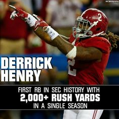 Derrick Henry #Alabama Football