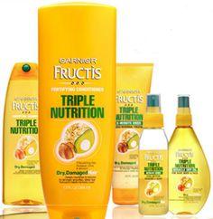 FREE Garnier Triple Nutrition Shampoo & Conditioner Sample