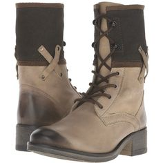 Matisse Mechanic Women's Lace-up Boots (180 CAD) ❤ liked on Polyvore featuring shoes, boots, lined boots, canvas boots, canvas shoes, lacing boots and canvas lace up shoes