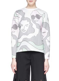 I am a sucker for clever details. This ASCII Girls sweatshirt by Opening Ceremony is perfect.