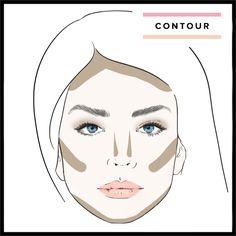 contour, makeup application, makeup tutorial