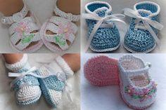 Boutique Crochet Tulip Baby or Reborn Doll Booties Crochet Baby Shoes, Newborn Crochet, Crochet Baby Booties, Crochet Slippers, Crochet Bebe, Hand Crochet, Free Crochet, Baby Patterns, Crochet Patterns