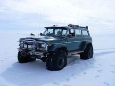 Jeep Grand Wagoneer in Iceland