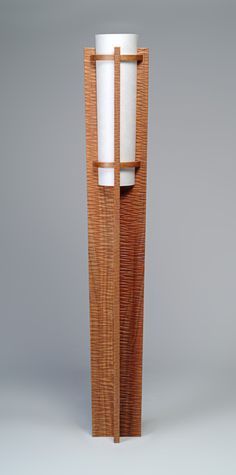 Aja by Kyle Dallman: Wood Floor Lamp available at www.artfulhome.com