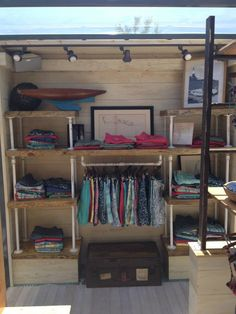 Faherty mobile pop up store