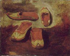 TheHistorialist: 1832 | EUGENE DELACROIX | ETUDE DE BABOUCHES |