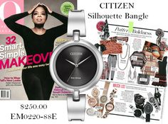 Brand new this fall for Citizen, Silhouette Bangle!
