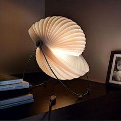 tischlampen papierlampen originell schick weiß
