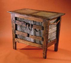 Stonetop Vanity rustic reclaimed wood