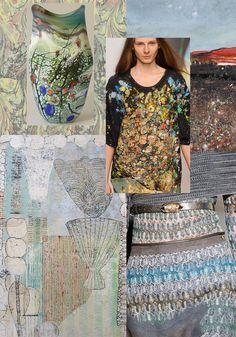 Inspiration   Autumn/Winter 2013   Textured Landscapes | print pattern inspiration