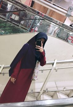 Casual Hijab Outfit, Ootd Hijab, Muslim Fashion, Hijab Fashion, Fashion Outfits, Muslim Girls, Muslim Women, Hijab Cartoon, Profile Picture For Girls