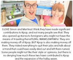 I love Simon and Martina!  So funny and cute!  (and so NASTY!!!)