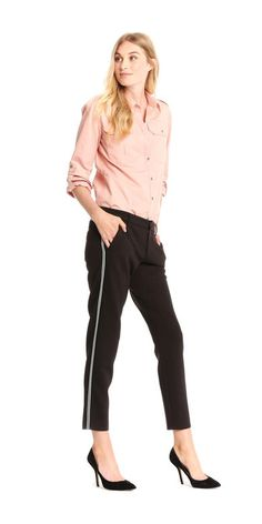 Slim Contrast Stripe Pant from Joe Fresh.
