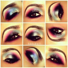 Colorful Gray Dramatic look https://www.makeupbee.com/look.php?look_id=88897