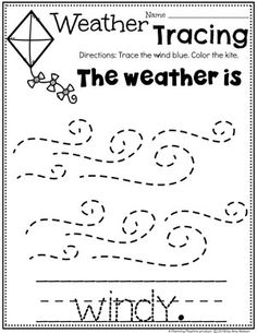 Looking for fun Weather Activities for Kids? This set is packed with hands-on learning fun for a Weather Theme. Includes an Interactive Weather Chart, and so much more. Weather Activities Preschool, Kindergarten Science, Preschool Lessons, Preschool Classroom, Preschool Activities, Preschool Weekly Themes, Classroom Layout, Weather Worksheets, Tracing Worksheets