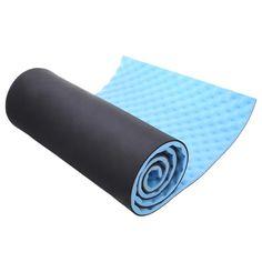 2016 15mm Dicke Verlieren Gewicht Übung Yoga-Matte 180x51 cm Pilates Yoga-Matte Mit Trageriemen Fitness Feuchtigkeitsdichten Schaum Pad