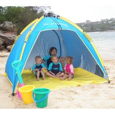 Pacific Breeze EasyUp Beach Tent Check This Awesome Product By Going To The Link At Image