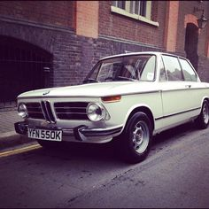 BMW 2002 a classic, just like my 1st car:)