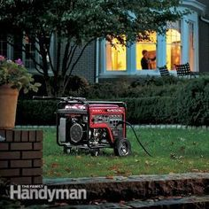 Ten tips to help you chose the right backup generator for your home.