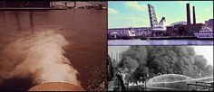 "https://flic.kr/p/dkQUPT | Then & Now, Cuyahoga River, Ohio | Then:  ""City Pump Station Discharges Sewage into the Cuyahoga River,"" July, 1973 photo by Frank J. Aleksandrowicz for Documerica.   Way Back Then: One of the Cuyahoga River fires, this event in 1952. (Photo by James Thomas). Images courtesy of Cleveland Press Collection, Cleveland State University Library.   Now: Cuyahoga River Today. September, 2012 by Pete Cassell for State of the Environment  Have some change to share..."