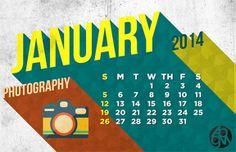 Long Shadow Calendar 2014 Design