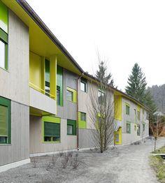 Edelaar Mosayebi Inderbitzin Architekten - Avellana Housing, Zurich 2012. Photos © Roland Bernath.